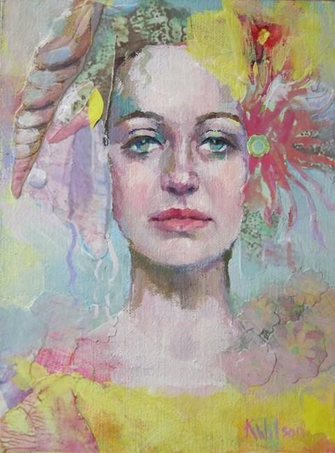 """From the Deep"" original fine art by Katie Wilson"