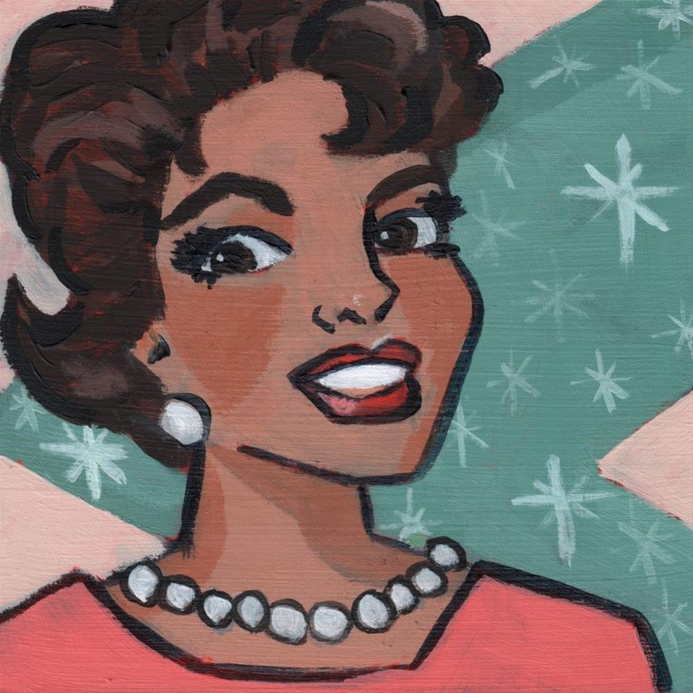 """""""Donna Reed Forever (#360)"""" original fine art by Debbie Miller"""