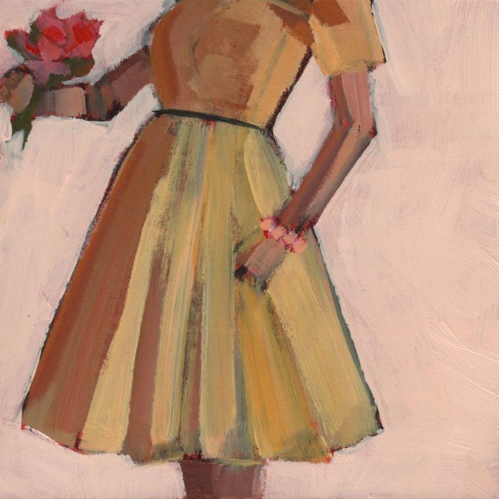 """My Turn (#376)"" original fine art by Debbie Miller"