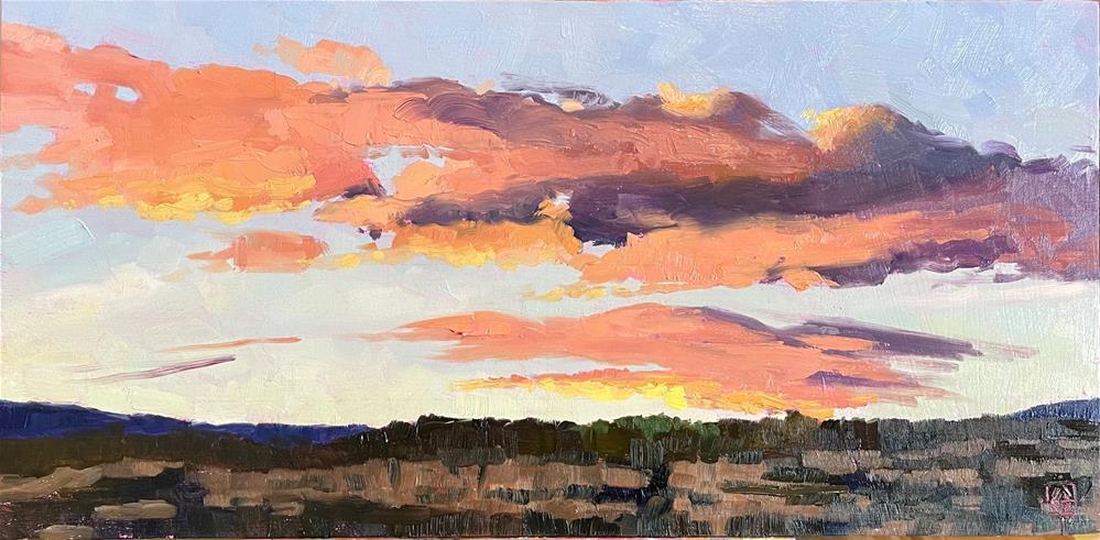 """Southern Utah Sunset"" original fine art by Carol Granger"
