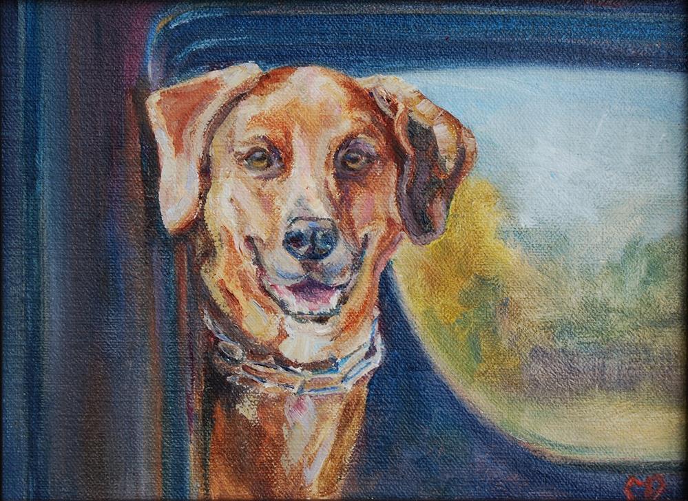 """On the Road Again"" original fine art by Carol DeMumbrum"