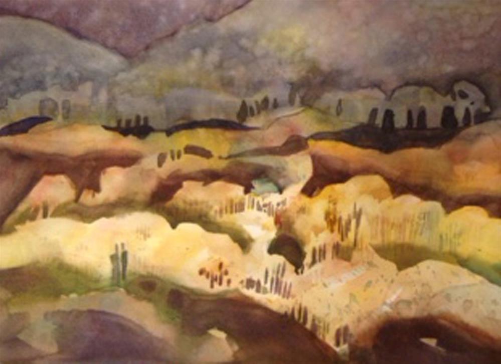 """Park City Aspen"" original fine art by Julie Crouch"