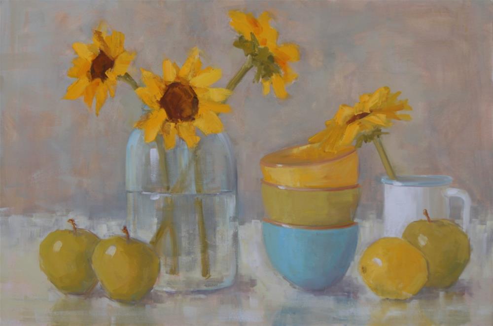 """sweet days of summer"" original fine art by Carol Carmichael"