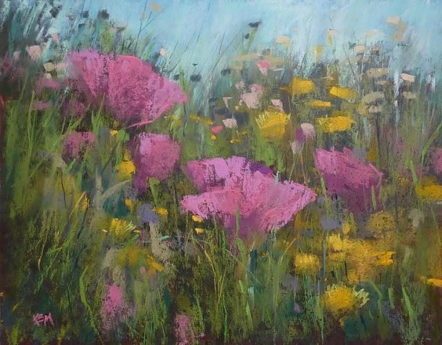 """Must See Painting Transformation"" original fine art by Karen Margulis"