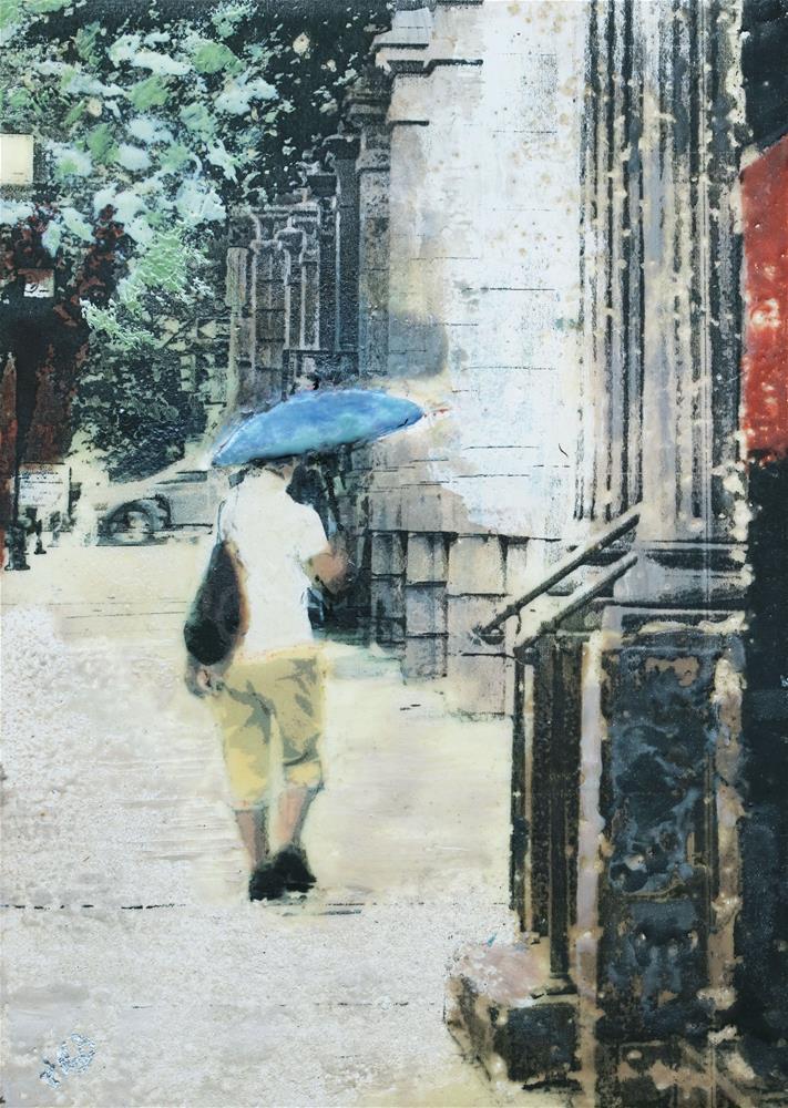 """""""Sunbrella"""" original fine art by Heather Douglas"""