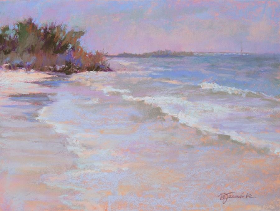 """Just the Sound of the Ocean"" original fine art by Barbara Jaenicke"