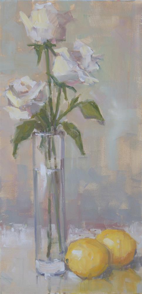 """pleasing combination"" original fine art by Carol Carmichael"