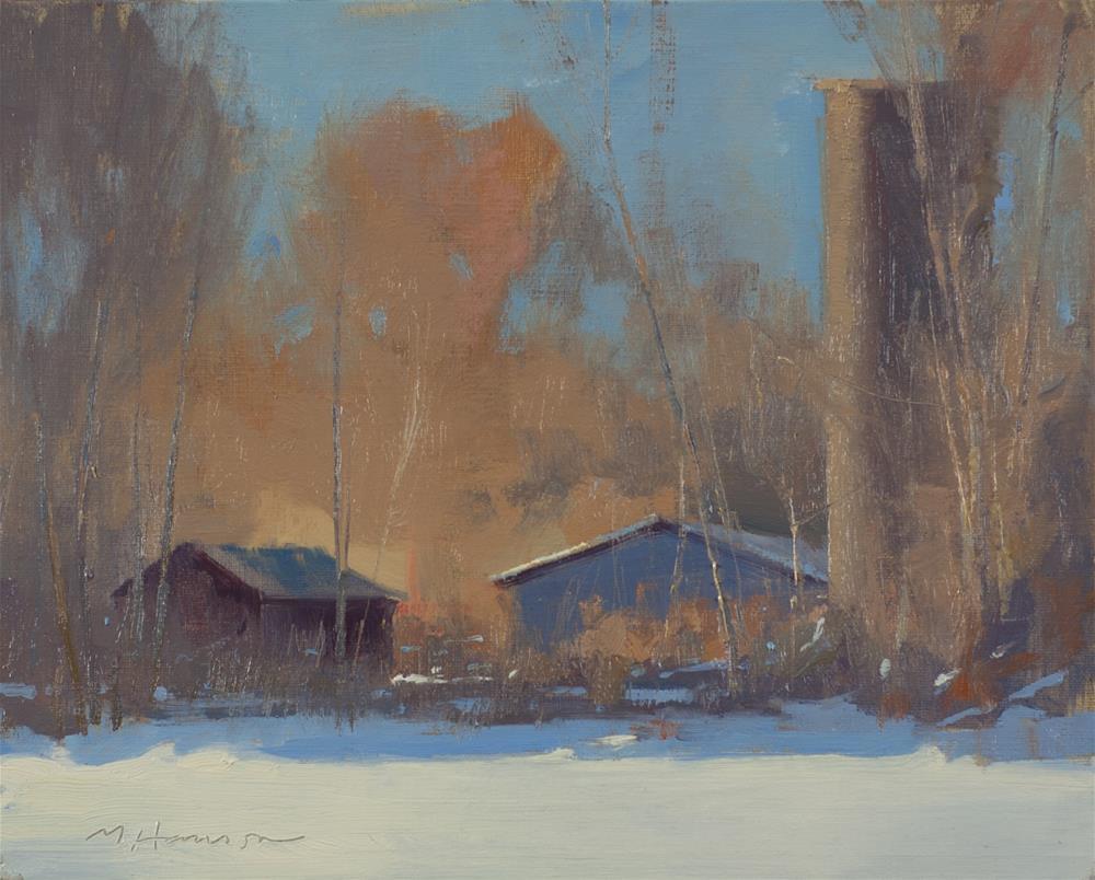 """2-13-1 Old Farm"" original fine art by Marc Hanson"