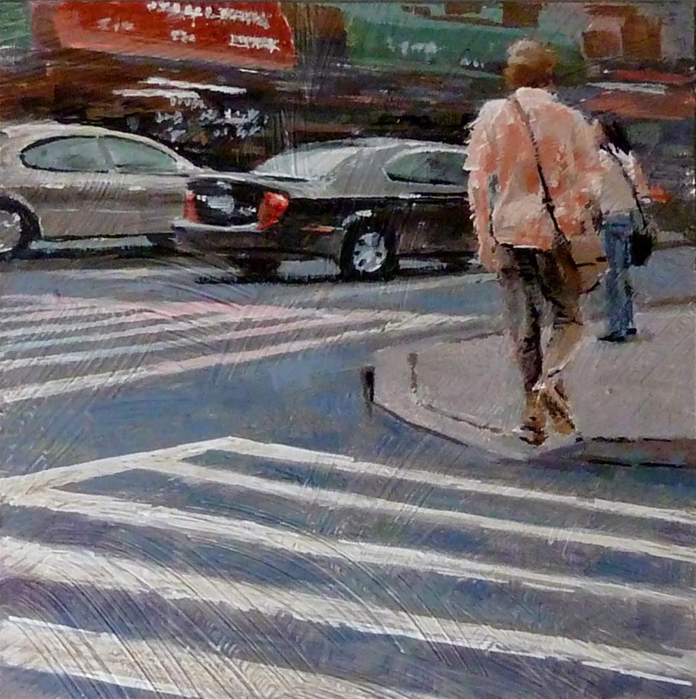 """""""In no Hurry"""" original fine art by Ron Ferkol"""