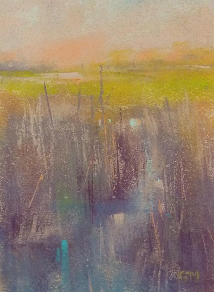 """Crow Creek"" original fine art by Karen Margulis"
