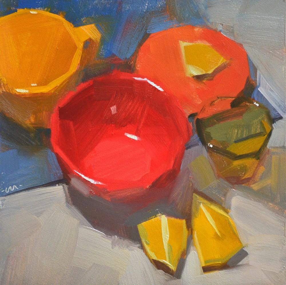 """""""Hot and Sour"""" original fine art by Carol Marine"""