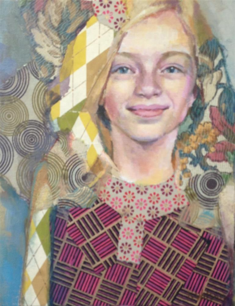 """Eva - Commission"" original fine art by Katie Wilson"