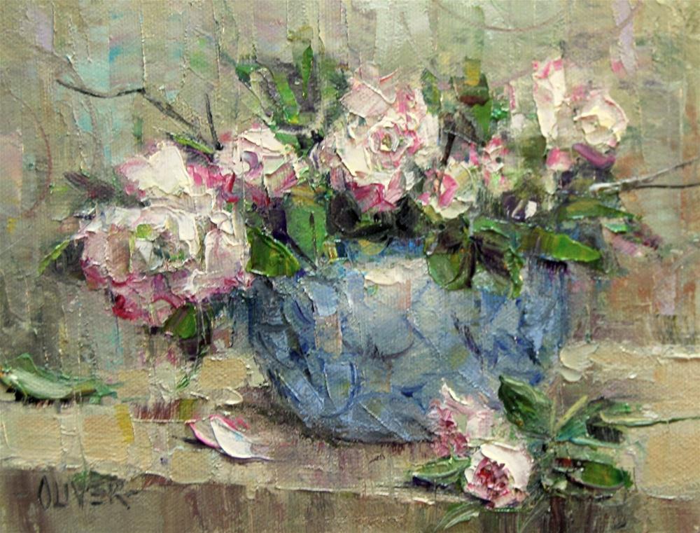 """""""On the Shelf #2"""" original fine art by Julie Ford Oliver"""