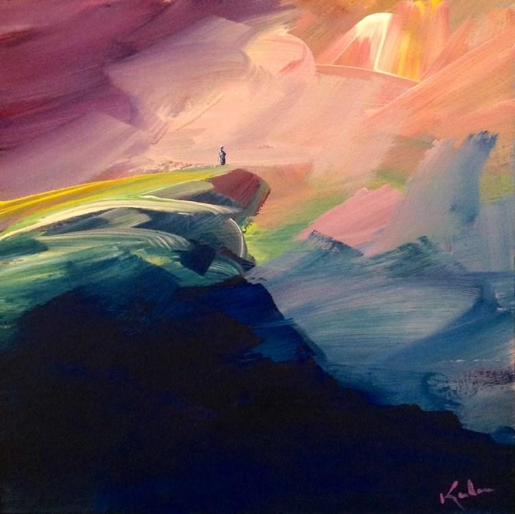 """Unremembered Things"" original fine art by David Kuhn"