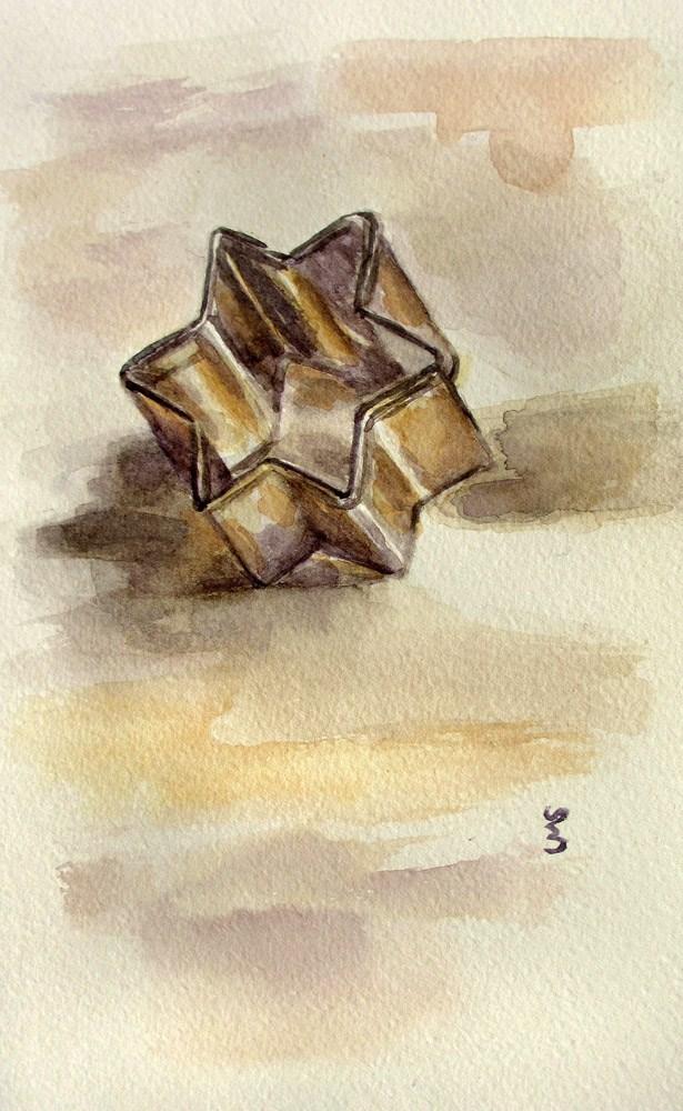 """Where's the Pastry?"" original fine art by Ulrike Miesen-Schuermann"