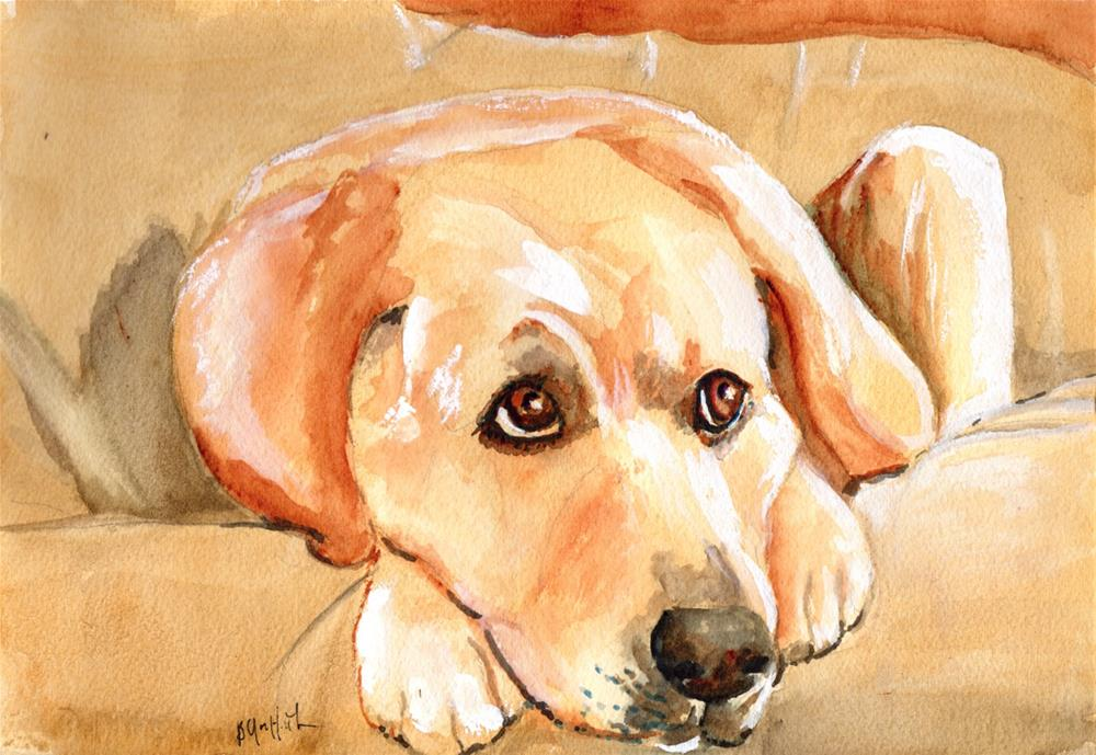 """Labrador "" original fine art by Bunny Griffeth"