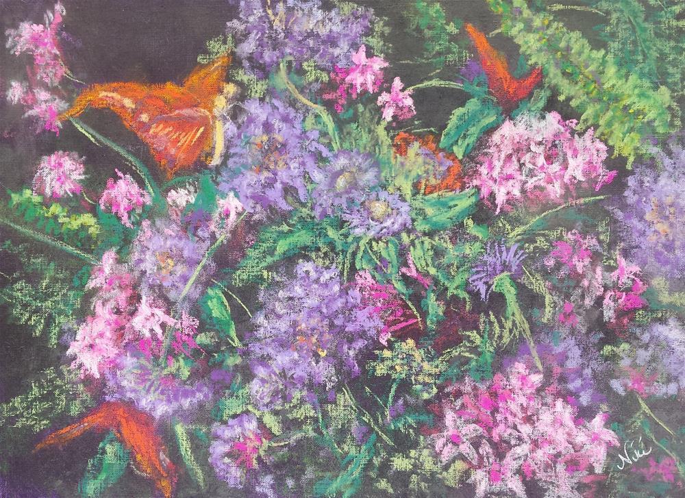 """Bouquet"" original fine art by Niki Hilsabeck"