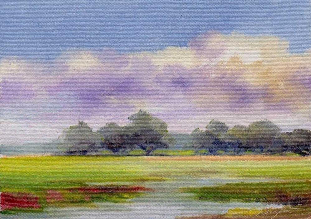 """after rain"" original fine art by Mark DeBak"
