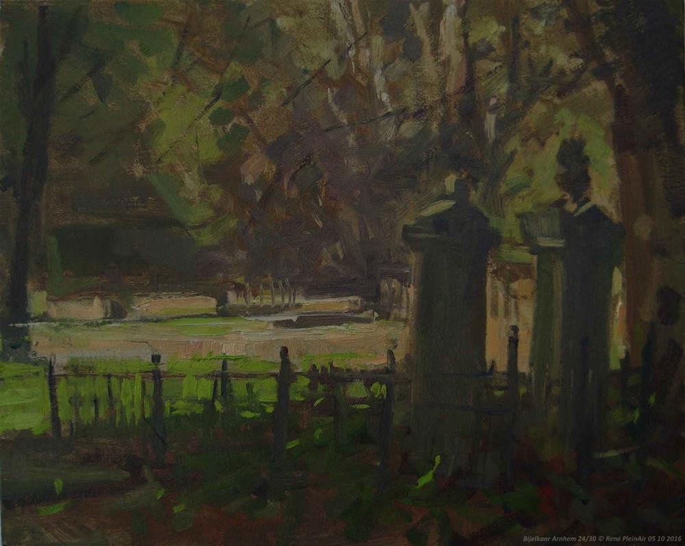 """Together forever Arnhem, The Netherlands"" original fine art by René PleinAir"