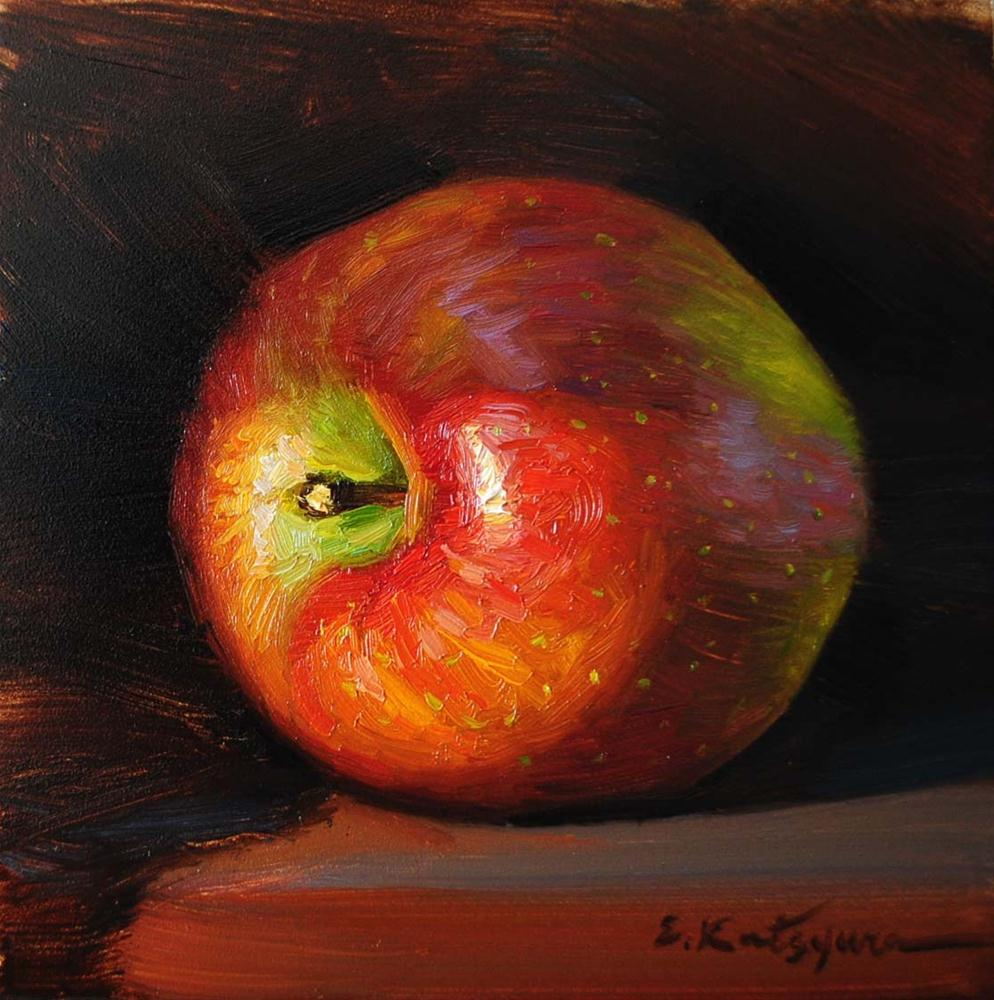 """Shadow Apple"" original fine art by Elena Katsyura"