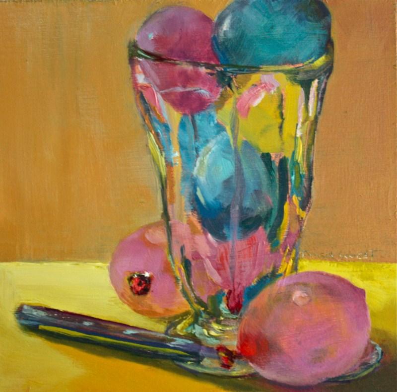 """Sundae Surprise"" original fine art by Pamela Sweet"