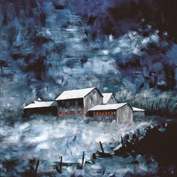 """""""Barn #28"""" original fine art by Anna Vreman"""