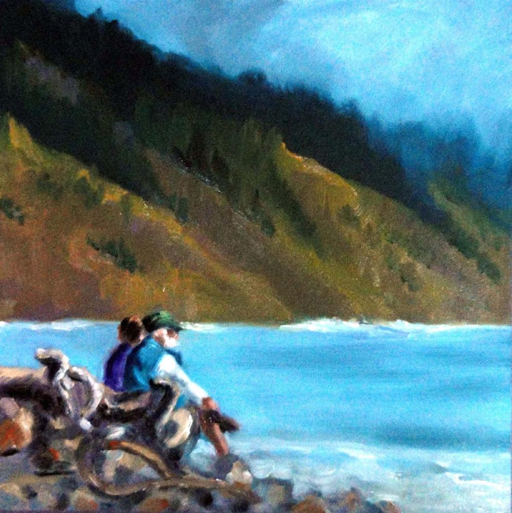 """Quiet Moment"" original fine art by Cietha Wilson"