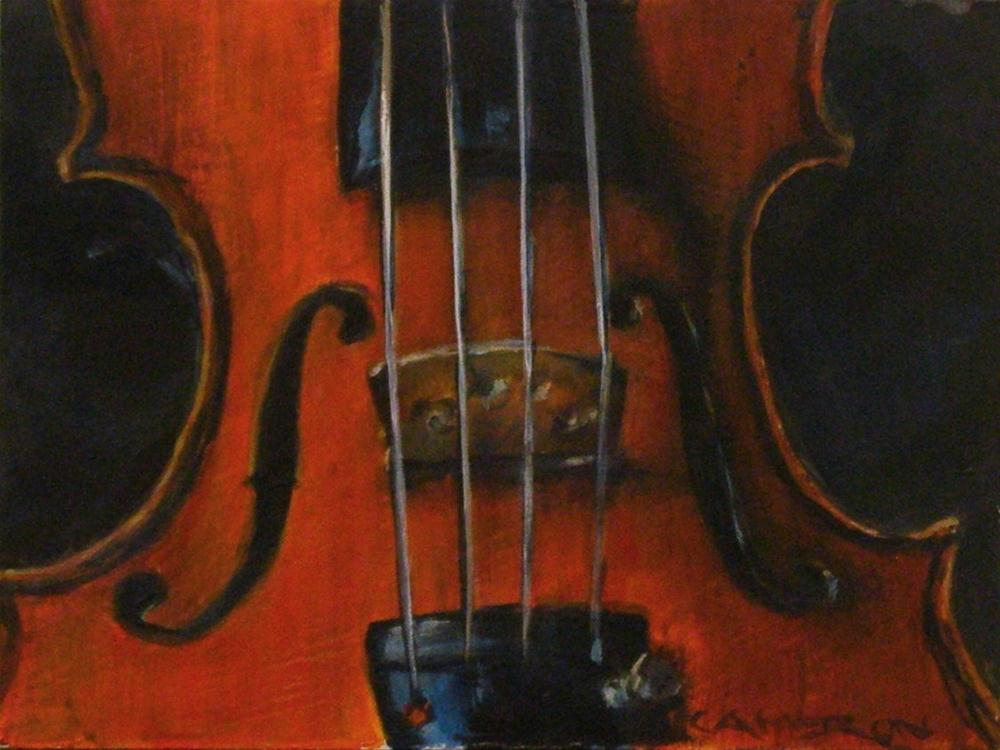 """VIOLIN 4"" original fine art by Brian Cameron"