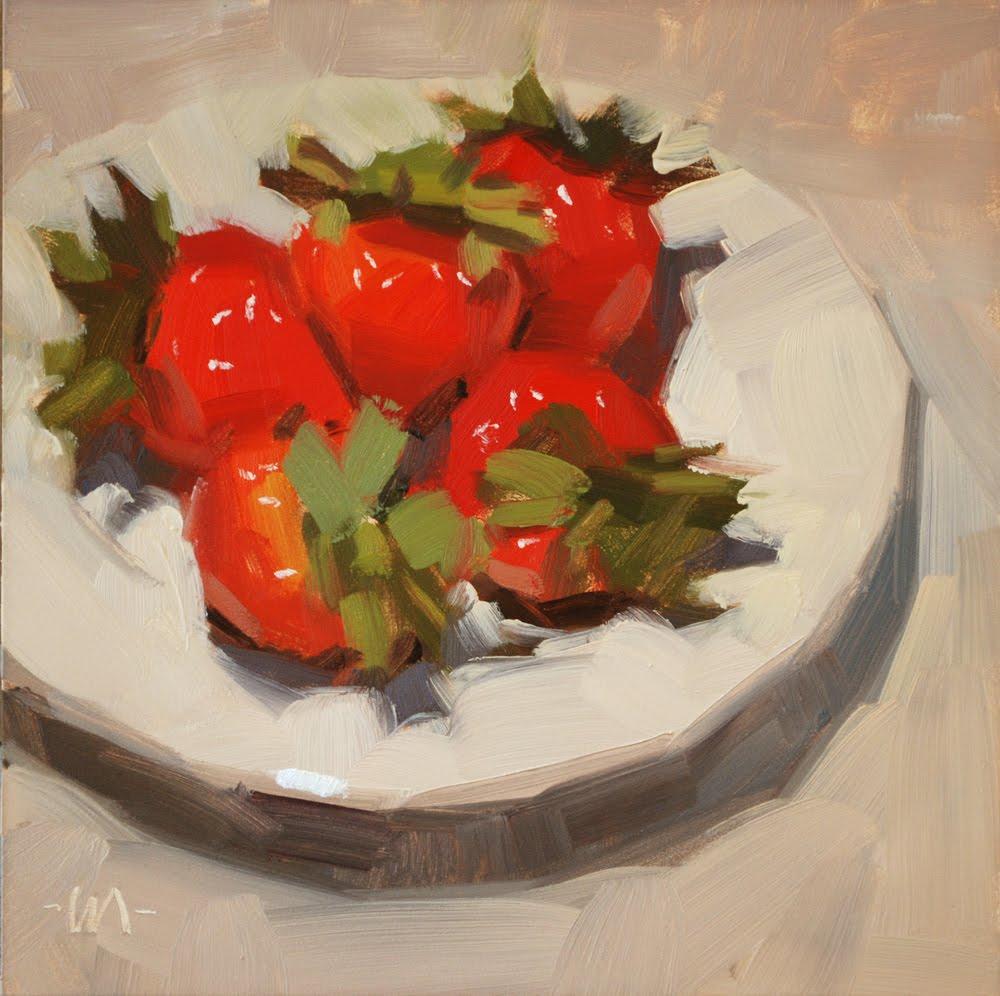 """Pile of Goodness"" original fine art by Carol Marine"