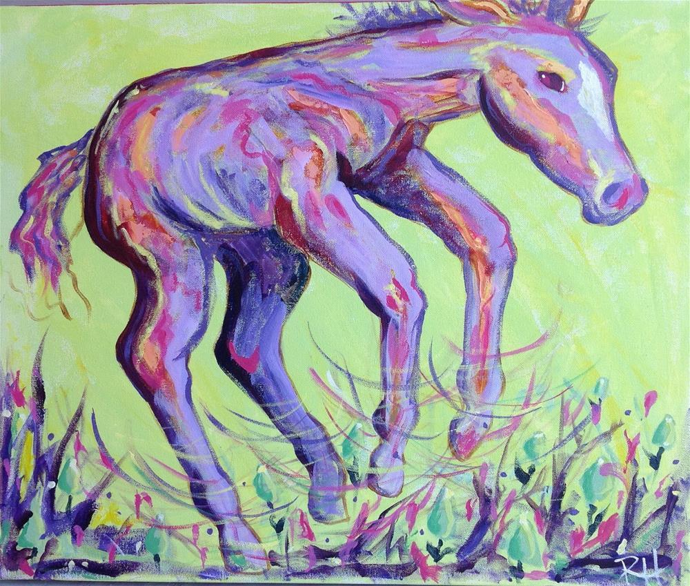 """Spring Has Sprung"" original fine art by Rachel  Holland"