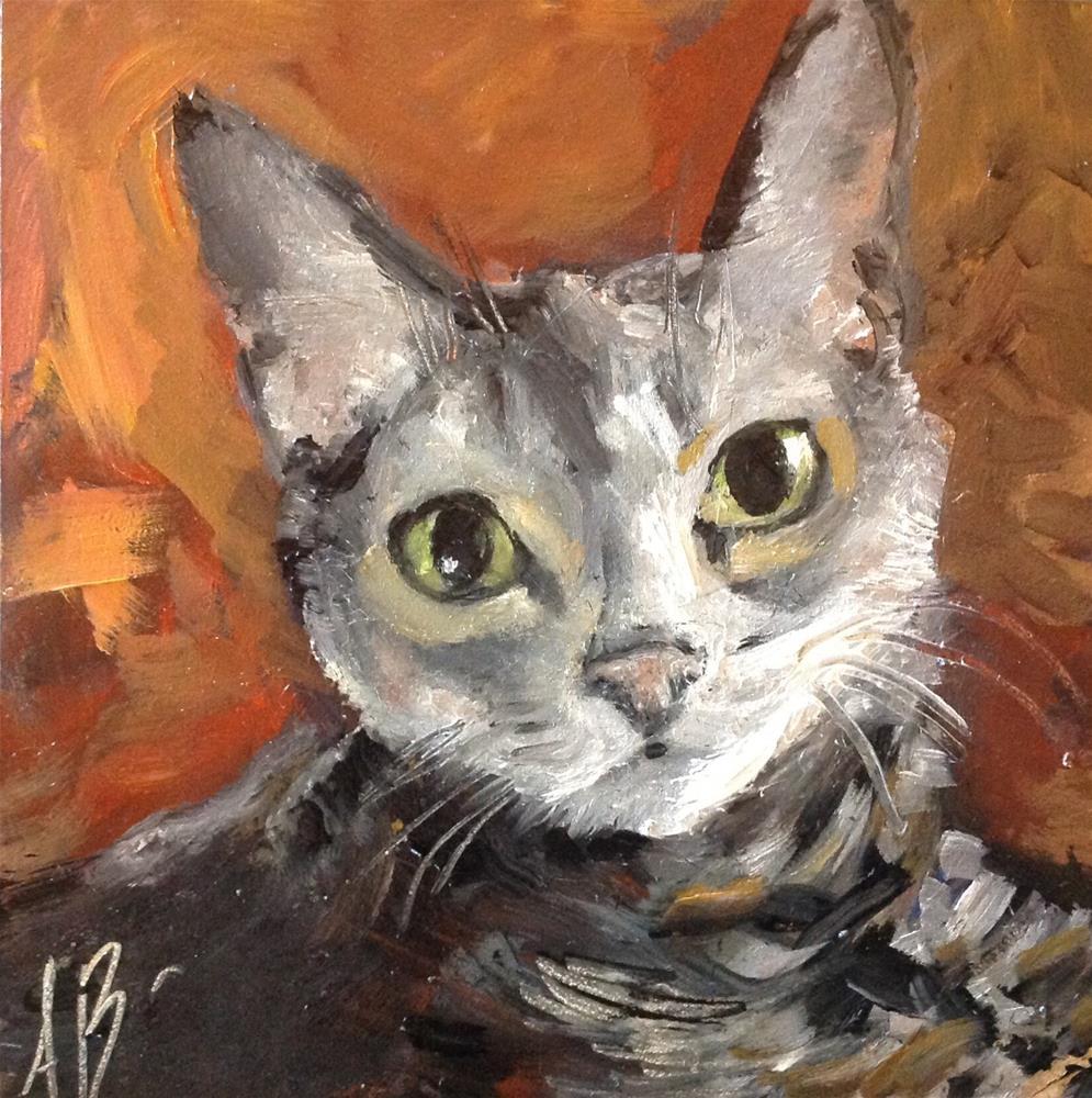 """""""Little Shortie"""" original fine art by Annette Balesteri"""