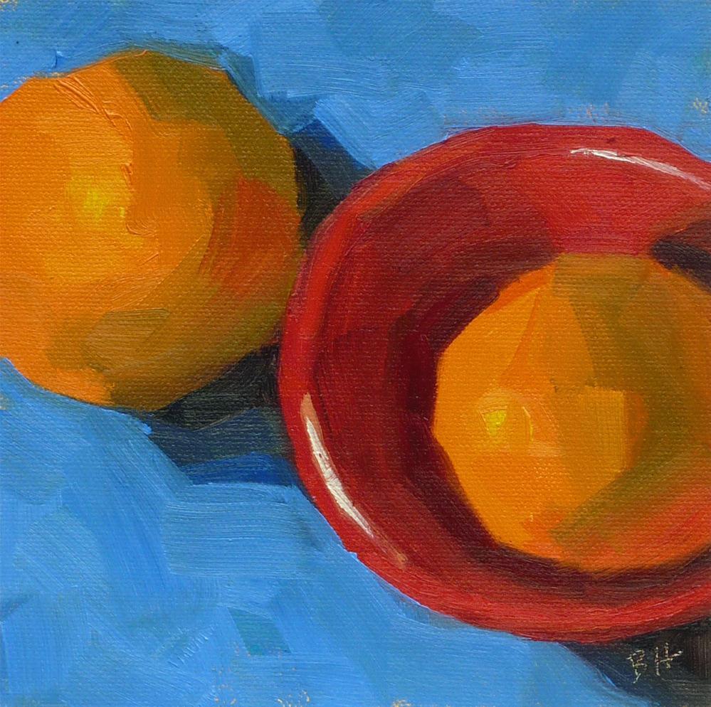 """Off The Rim"" original fine art by Bobbi Heath"