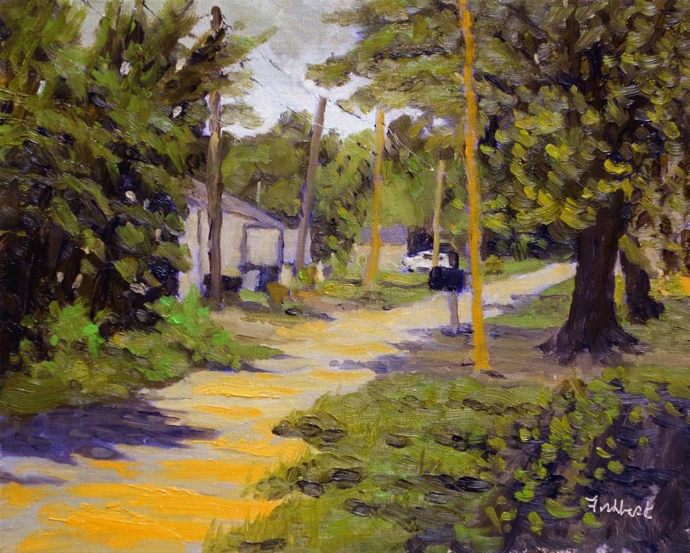 """Sunny Lane"" original fine art by Daniel Fishback"