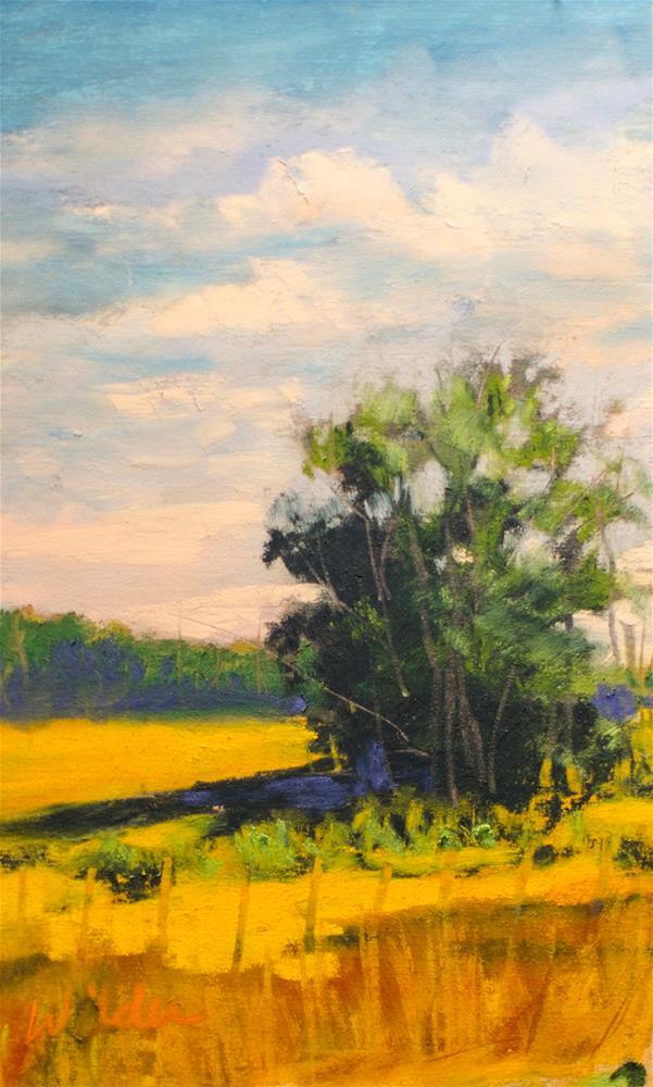 """Tree"" original fine art by Judy Wilder Dalton"