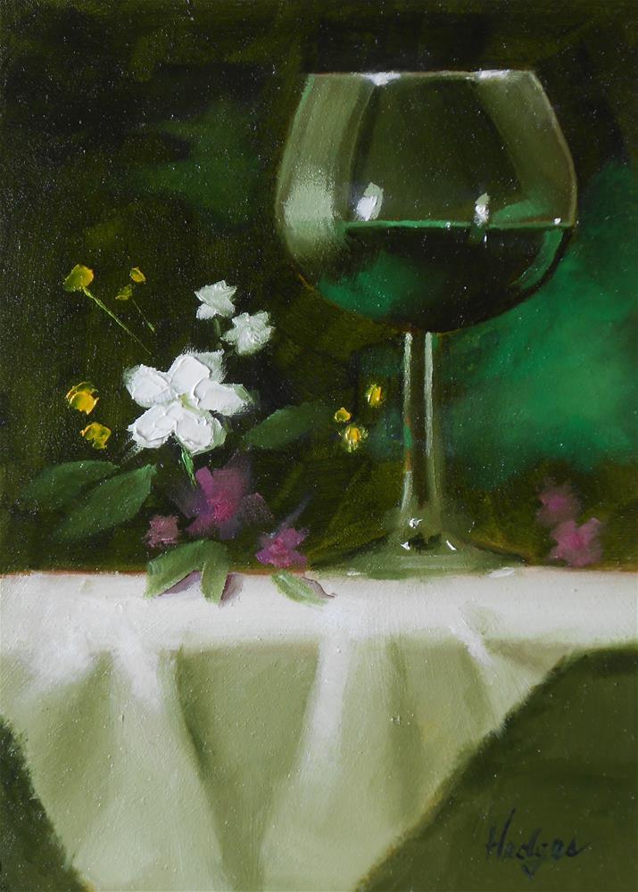 """""""Arrangement with Creme de Menthe"""" original fine art by Bruce Hedges"""