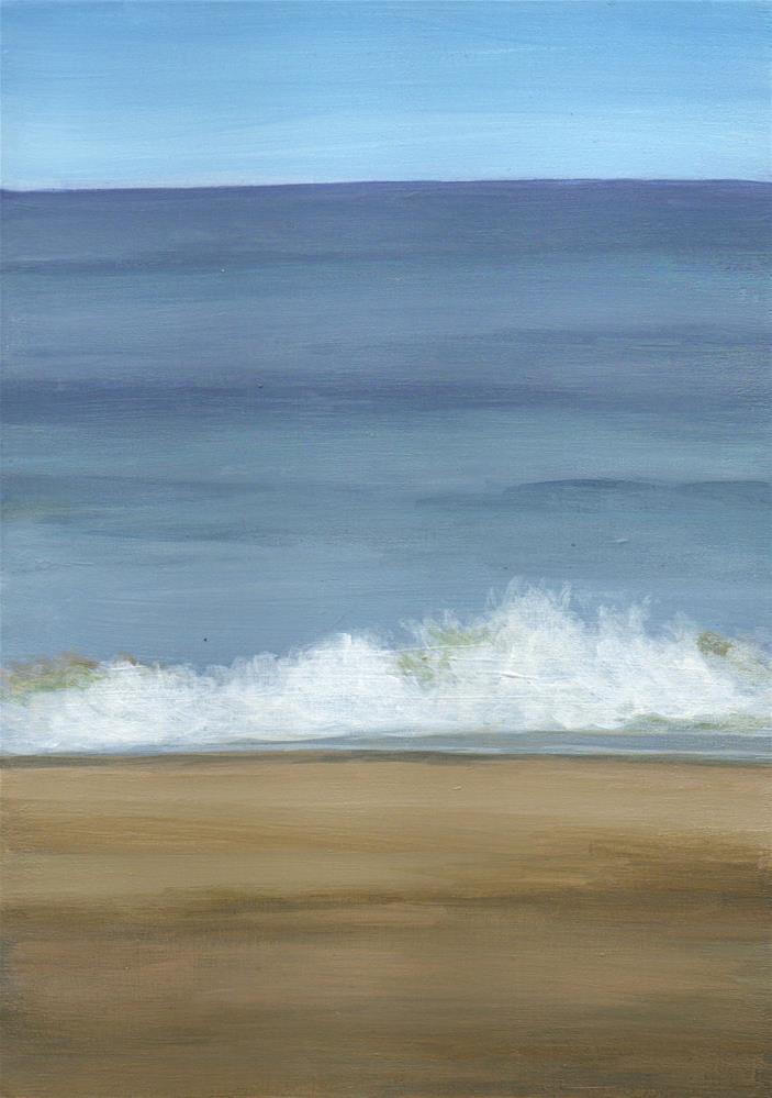 """Determined"" original fine art by Debbie Shirley"