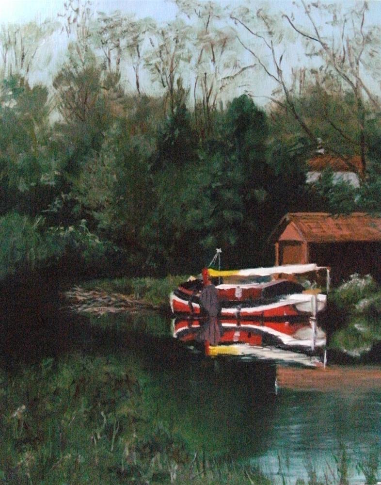 """""""Reflections"""" original fine art by Lynn Darby"""