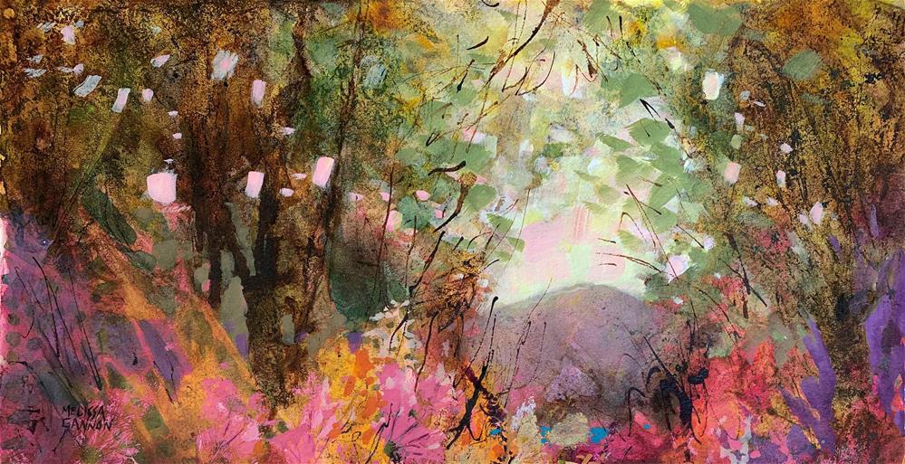 """Dancing Landscape"" original fine art by Melissa Gannon"