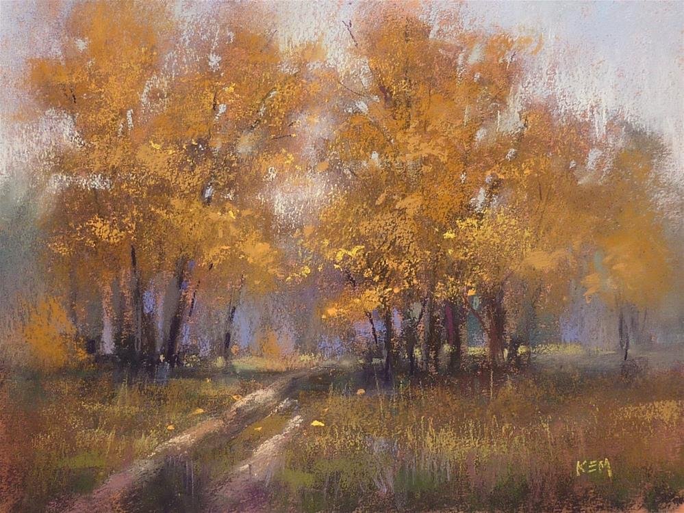 """Online Livestream Demo: Exciting Color in the Landscape"" original fine art by Karen Margulis"