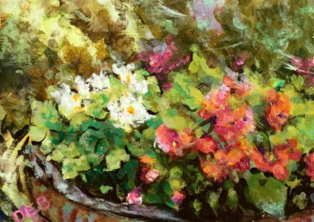 """Timothy's Floral"" original fine art by Debbie Yacenda"