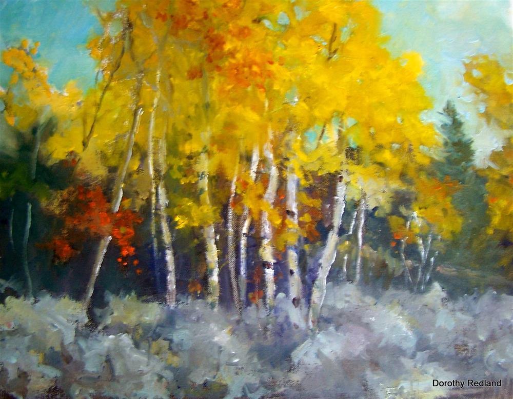 """The last day of September"" original fine art by Dorothy Redland"