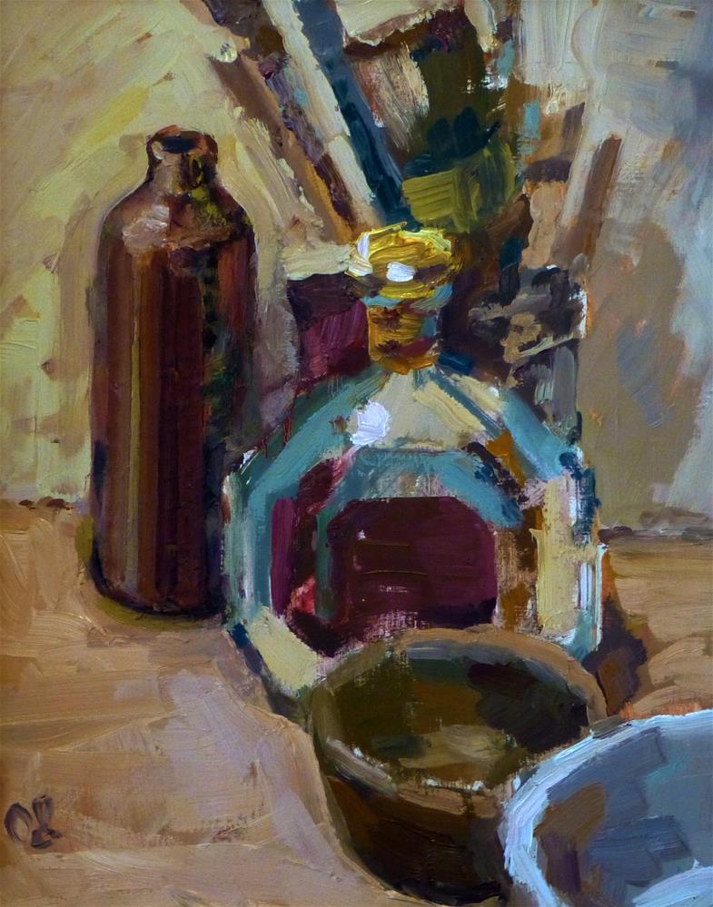 """Alte Pinsel"" original fine art by Jurij Frey"