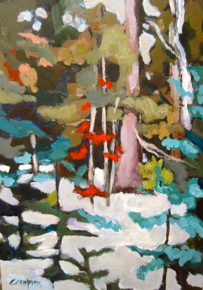 """287.  AHA Moment"" original fine art by Diane Campion"