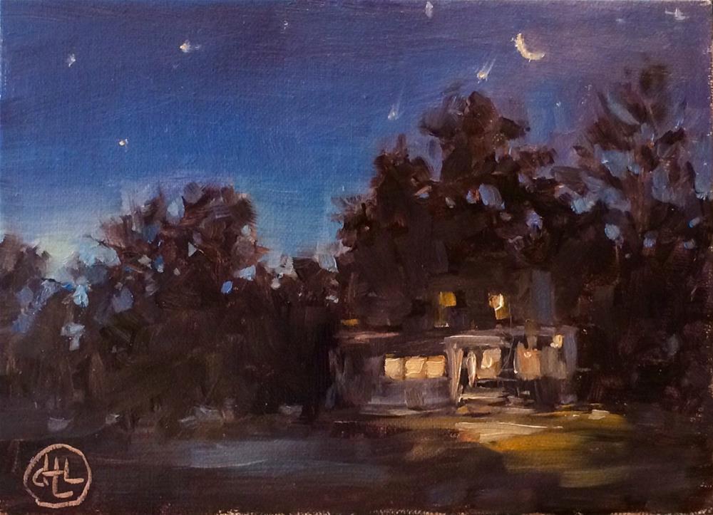 """""""early riser"""" original fine art by Dottie  T  Leatherwood"""