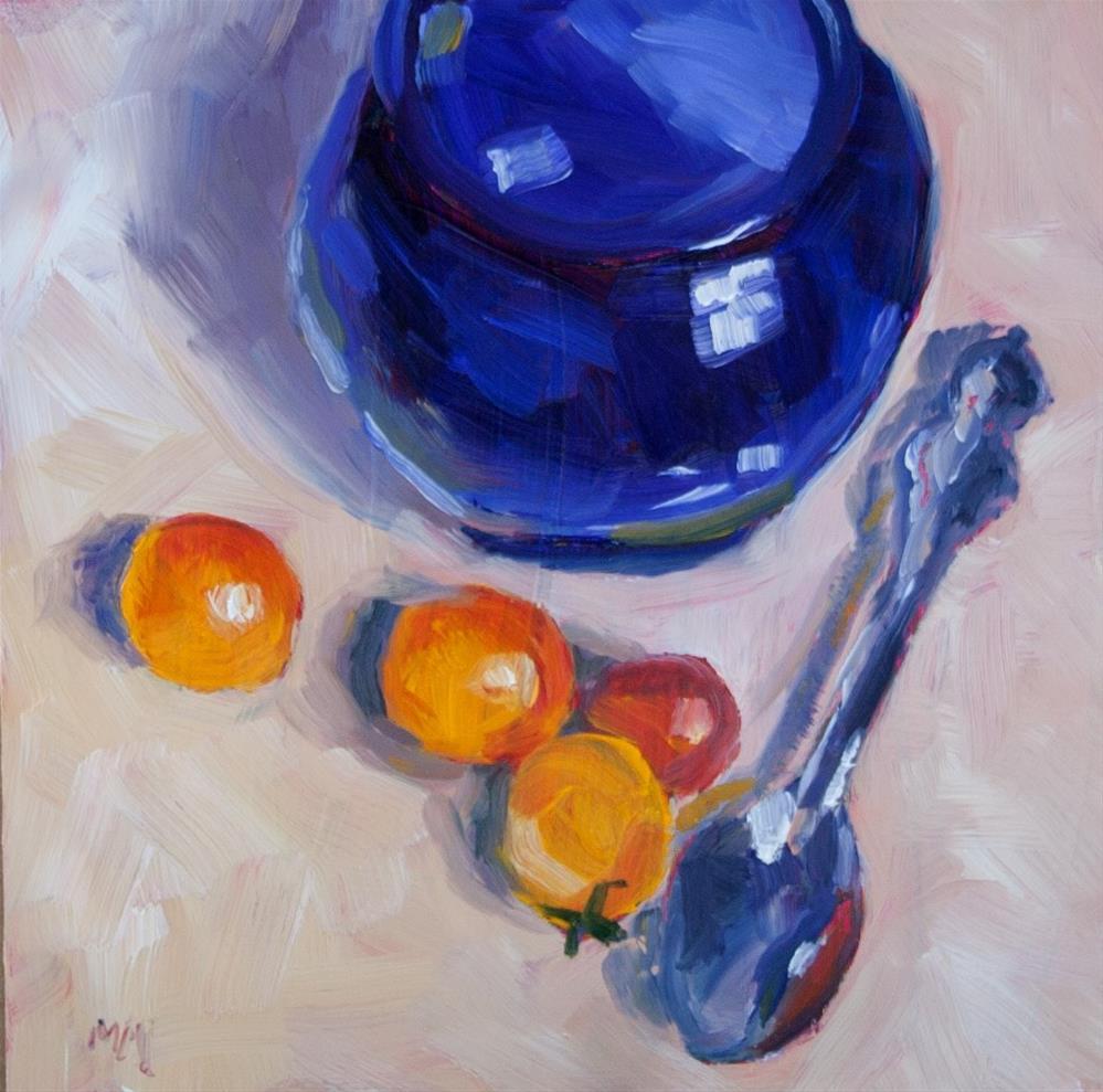 """Spoon Gang"" original fine art by Maria McNitt"