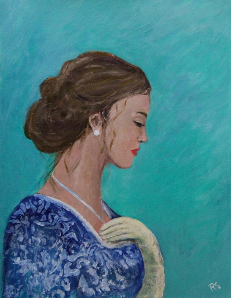 """An Unguarded Moment"" original fine art by Roberta Schmidt ArtcyLucy"
