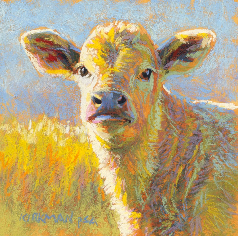 """Parkay"" original fine art by Rita Kirkman"