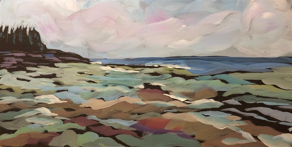 """Light On The Water"" original fine art by Kat Corrigan"