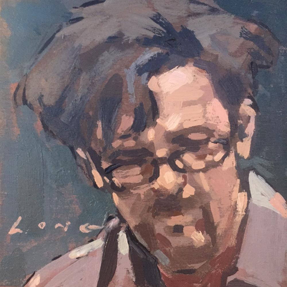 """Andre"" original fine art by Chris Long"