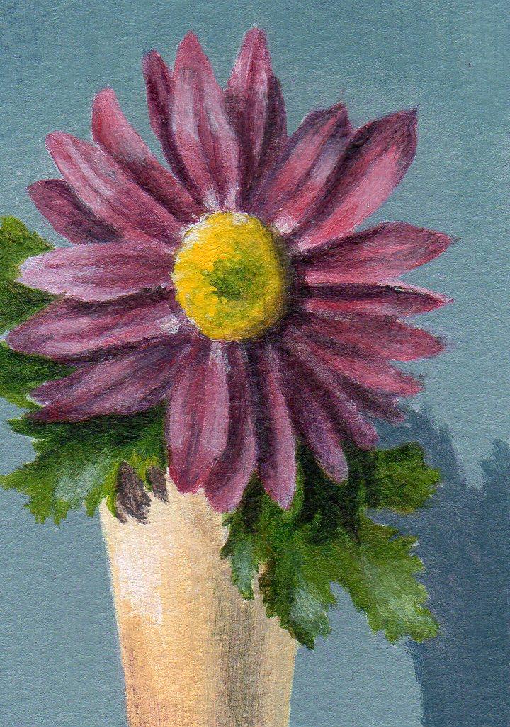 """Blooming New Year"" original fine art by Debbie Shirley"